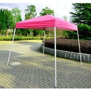 Outsunny 8 Ft. W x 8 Ft. D Pop-Up Canopy; Pink