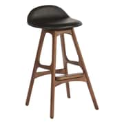 Aeon Furniture Torbin 29.5'' Bar Stool with Cushion; Walnut