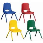 ECR4Kids 10'' Plastic Classroom Chair; Swivel Glide