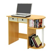 Wildon Home   Home Computer Desk; Steam Beech / Ivory