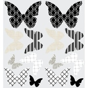 Room Mates 3D Butterflies Peel and Stick Wall Decal