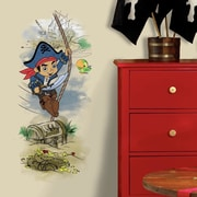 Room Mates Captain Jake and The Never Land Pirates Treasure Peel and Stick Giant Wall Decal