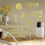 Room Mates Love with Hearts and Arrows Peel and Stick Wall Decal