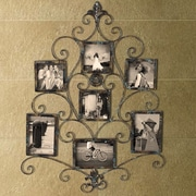 AdecoTrading 5 Opening Collage Metal Picture Frame