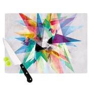 KESS InHouse Colorful by Mareike Boehmer Rainbow Abstract Cutting Board; 0.5'' H x 11'' W x 7.5'' D