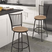 AdecoTrading 29'' Bar Stool with Cushion