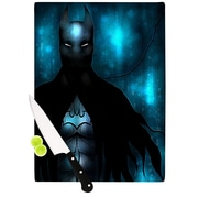 KESS InHouse Dark Knight by Mandie Manzano Cutting Board; 0.5'' H x 11'' W x 7.5'' D