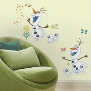 Room Mates Disney Frozen Fever Olaf Peel and Stick Wall Decal