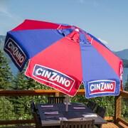 Heininger 8ft Beach and Patio Market Umbrella