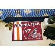 FANMATS NCAA Virginia Tech Starter Mat
