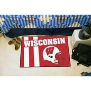 FANMATS NCAA University of Wisconsin Starter Mat