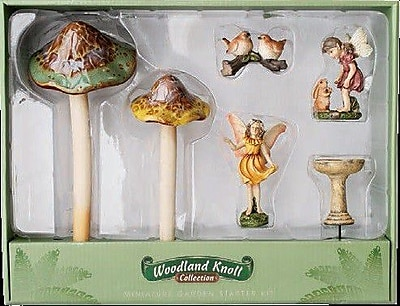Marshall Home Garden 6 Piece Fairy Mushroom Set WYF078278417185