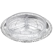 Corbell Silver Company Queen Anne 3 Div Hors D'oeuvre Tray