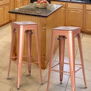 AdecoTrading 30'' Bar Stool (Set of 2)