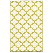 Fab Rugs Tangier Celery Indoor/Outdoor Area Rug; 6' x 9'