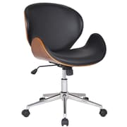 AdecoTrading Bentwood Mid-Back Task Chair