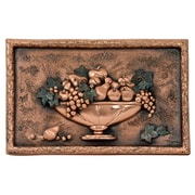 Good Directions 20'' x 12.75'' Italian Still Life Copper Mural/Backsplash