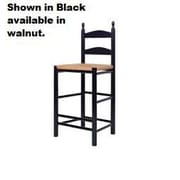 Dixie Seating Maiden 30'' Bar Stool; Black