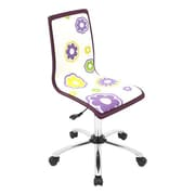 LumiSource Printed Daisy Computer Chair
