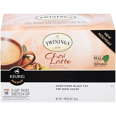 Twinings Chai Latte K-Cup, 10/Pack