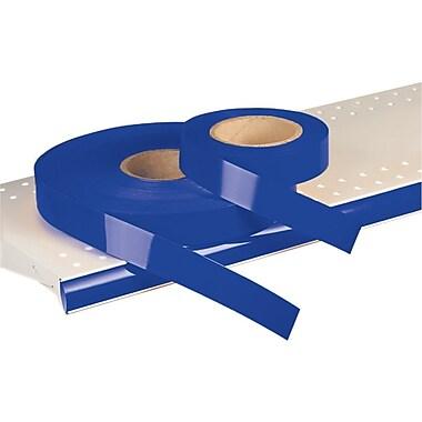 Kostklip® – Bandelette-étiquette ShelfLife™ pour porte-prix, non imprimées, 1,25 po, bleu royal, 500 pi/rouleau (26SL-100597)