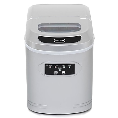 Whynter 9.5'' W 27 lb. Portable Ice Maker