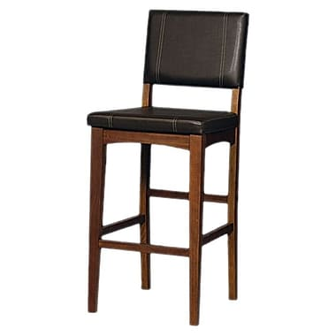 Linon Milano 30'' Bar Stool with Cushion