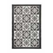 Koko Company Primrose Flowers Kitchen Mat; Midnight