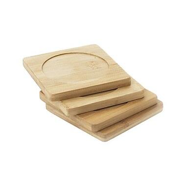 Natural Home Bamboo Coaster (Set of 4)
