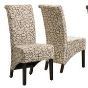 Monarch Specialties Inc. Kimberly Parsons Chair (Set of 2); Tan