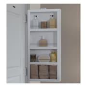 Cabidor 4'' Deep Mirrored Mini Storage Cabinet