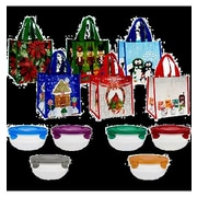 Lock & Lock 12-Piece Bowl and Holiday Bag Set