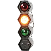 QFX 3-Color Sound-Responsive Traffic Disco Light (QFXDL33)