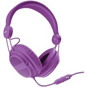 HM-310 Kid-Friendly Headphones with Microphone (Purple)