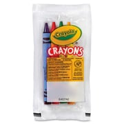 Crayola® Classic Color Cello Pack Party Favor Crayons, 4 Assorted Colors, 360/Carton (BSI 520083)
