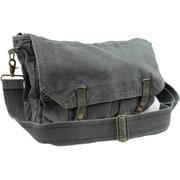 Vagabond Traveler Messenger Bag; Dark Grey