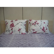 DaDa Bedding Floral 200 Thread Count Cotton Flat Sheet Set; Twin