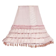 Jubilee Collection 10.5'' Square Lamp Shade; Pink
