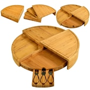 Picnic At Ascot Vienna Bamboo Serving Set