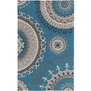 Artistic Weavers Lounge Alanna Hand Tufted Teal/Grey Area Rug; 9' x 13'