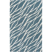 Artistic Weavers Arise Willa Hand Tufted Blue/Ivory Area Rug; 5' x 8'