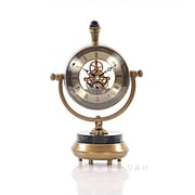 Old Modern Handicrafts 8'' Brass Table Clock