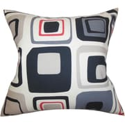 The Pillow Collection Maaza Geometric Silk Throw Pillow Cover