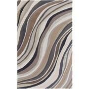 Artistic Weavers Lounge Carmen Hand Tufted Brown/Grey Area Rug; 5' x 8'