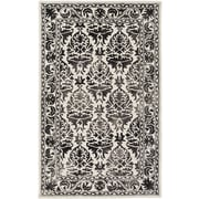 Artistic Weavers Organic Evelyn Hand Tufted Charcoal/Off-White Area Rug; 8' x 10'