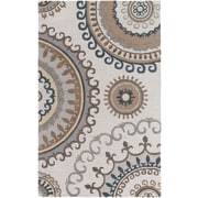 Artistic Weavers Lounge Alanna Hand Tufted Beige/Grey Area Rug; 5' x 8'