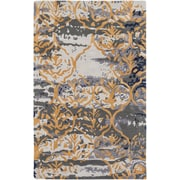 Artistic Weavers Pacific Holly Hand Tufted Charcoal Grey/Gold Area Rug; 5' x 8'