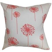 The Pillow Collection Dandelion Cotton Throw Pillow; 18'' x 18''