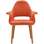 Edgemod Barclay Arm Chair (Set of 2); Orange