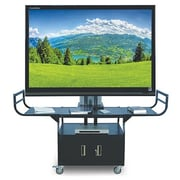 Hamilton Metal 80'' Flat Panel TV Cart